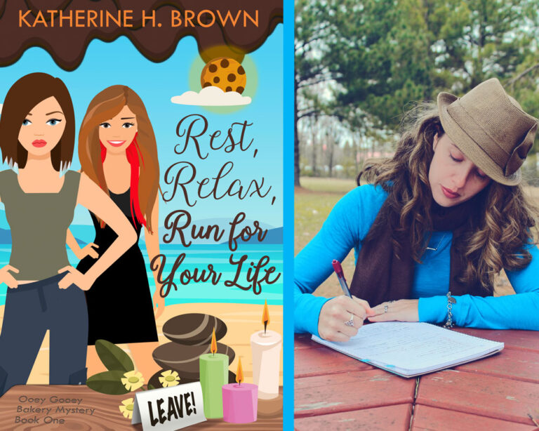 GUEST BLOG: Researching for Rest, Relax, Run For Your Life by Katherine H. Brown Plus Giveaway!