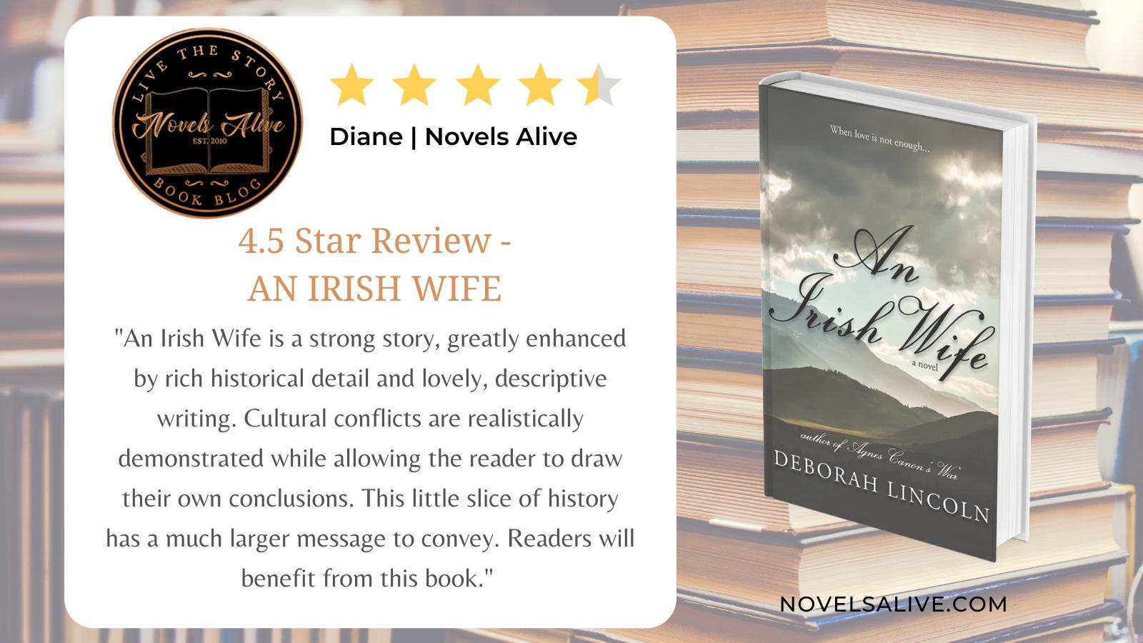 Book Review An Irish Wife Twitter