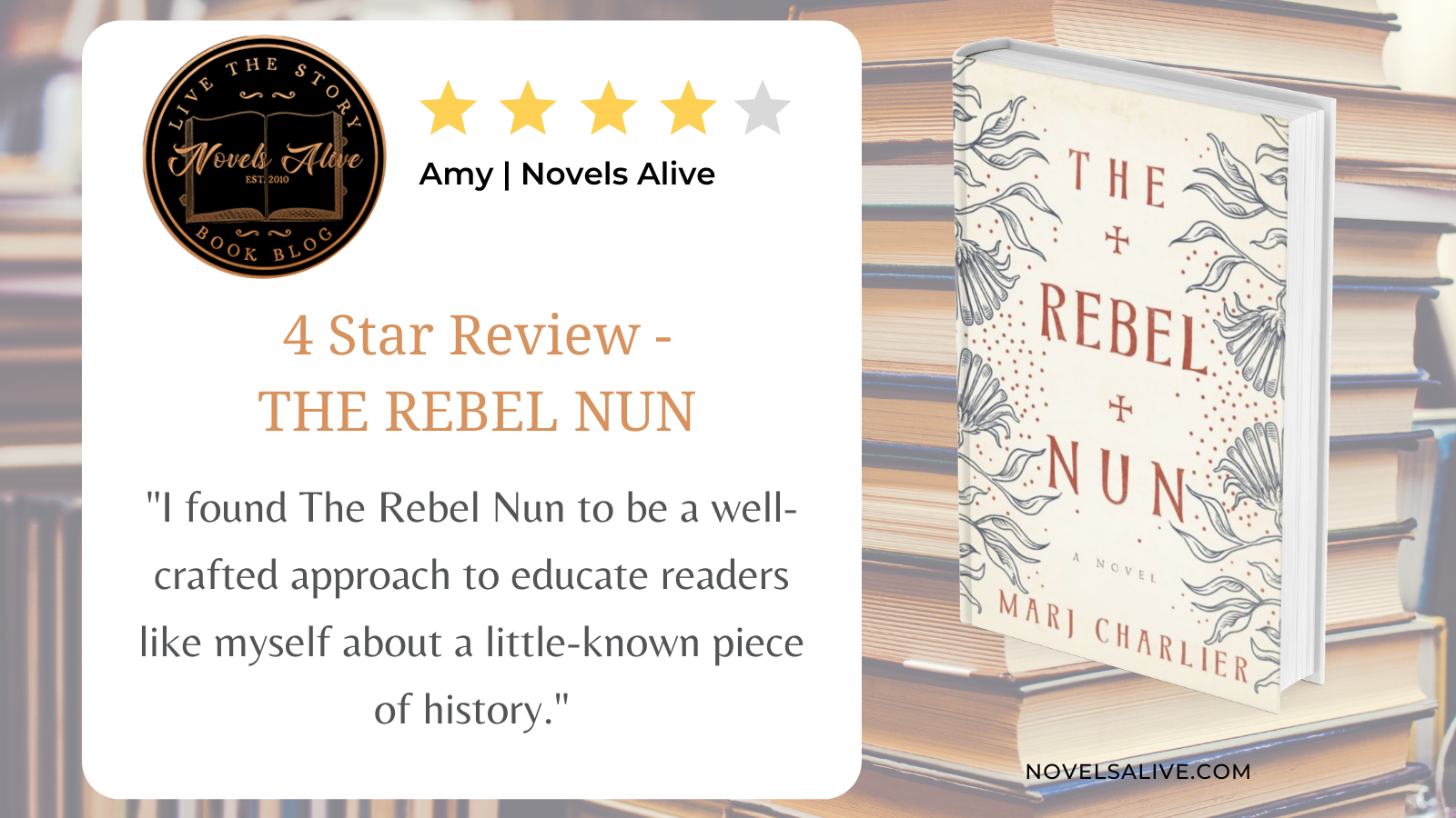 Book Review The Rebel Nun Twitter