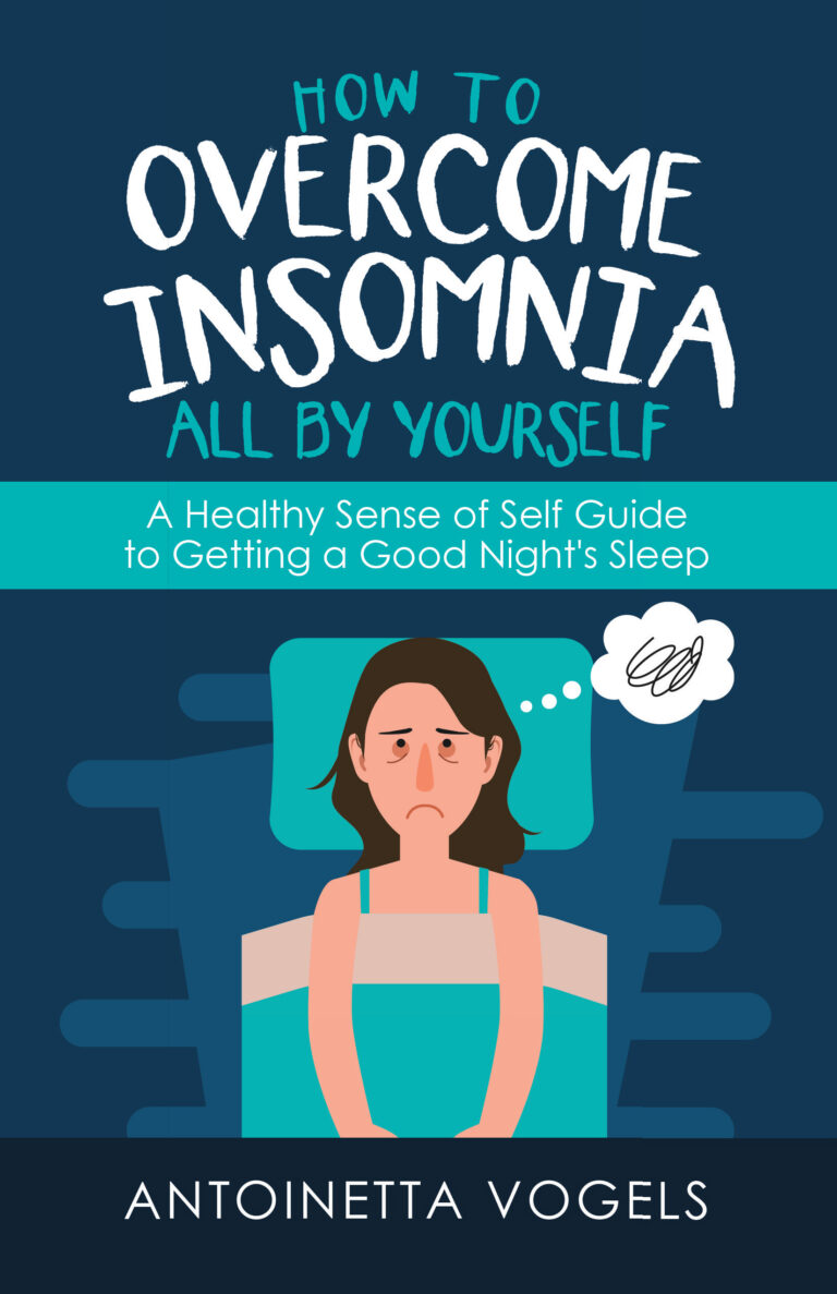 BOOK BLAST & LAUNCH PARTY: How To Overcome Insomnia All By Yourself by Antoinetta Vogels Plus Giveaway!