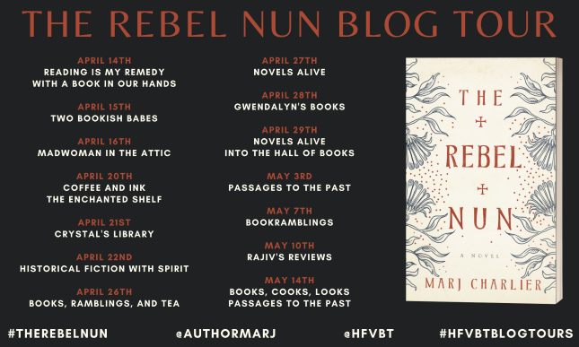 Rebel Nun Banner