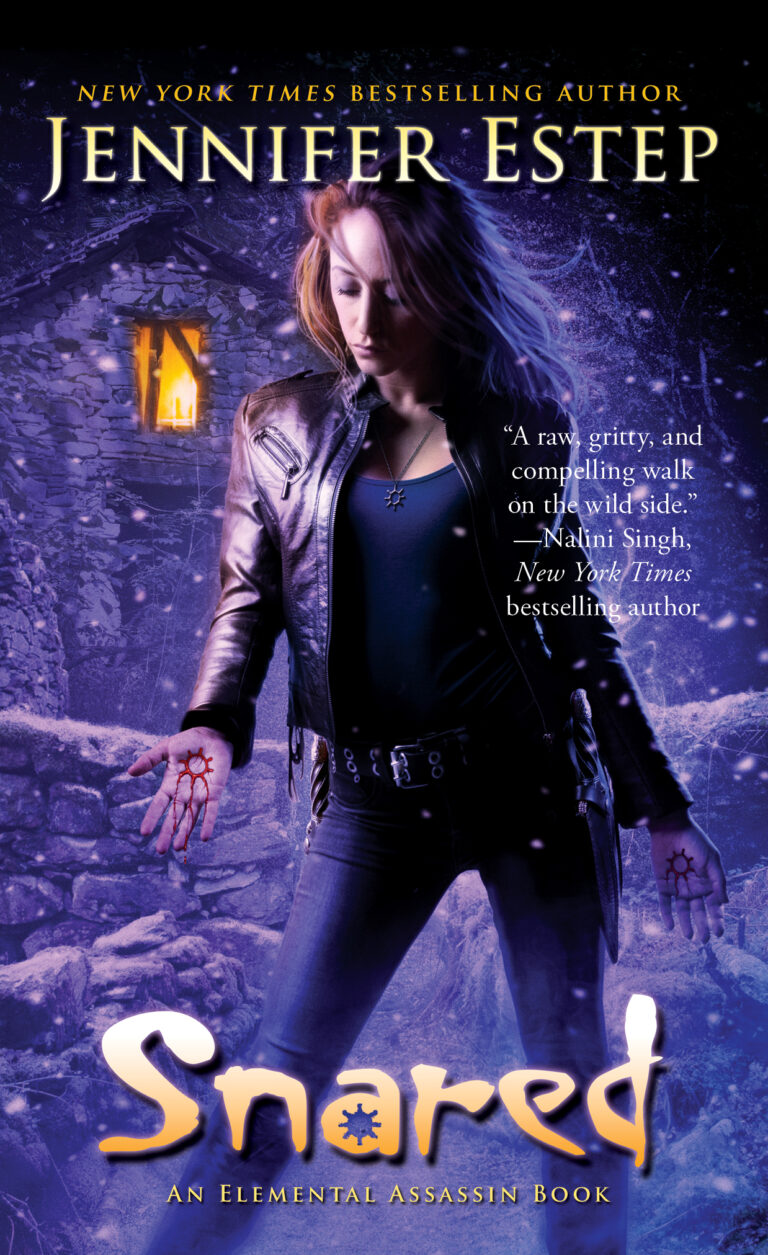 4 STAR REVIEW:  SNARED by Jennifer Estep