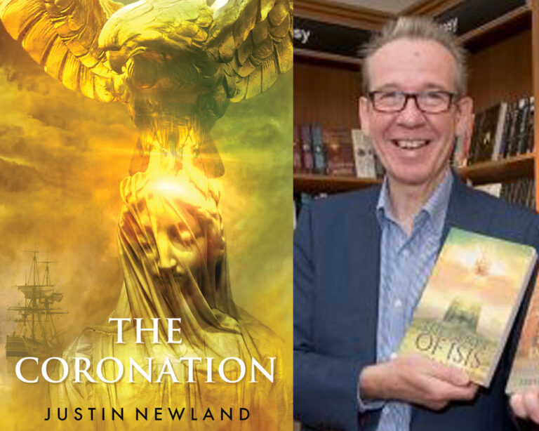 GUEST BLOG:  About THE CORONATION by Justin Newland Plus Giveaway!