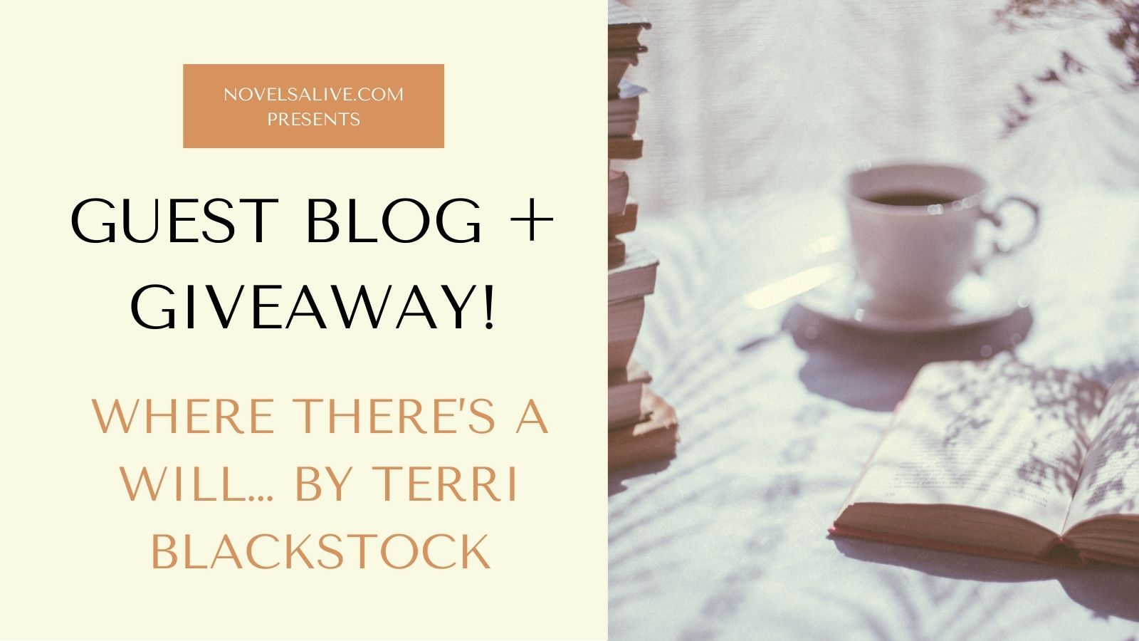 Guest Blog Terri Blackstock Twitter