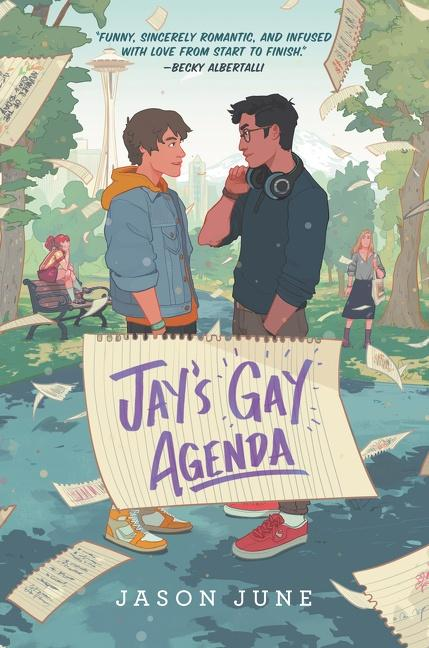NEW RELEASE: JAY'S GAY AGENDA by Jason June