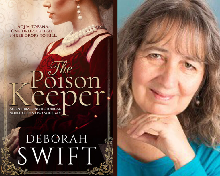 GUEST BLOG: Writing a Legendary Character by Deborah Swift Plus Giveaway!