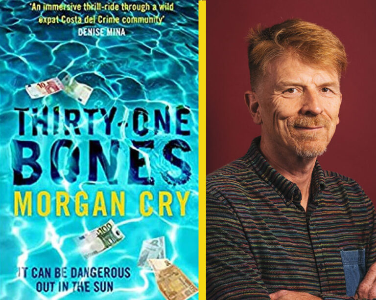 INTERVIEW: Morgan Cry on THIRTY-ONE BONES Plus Giveaway!