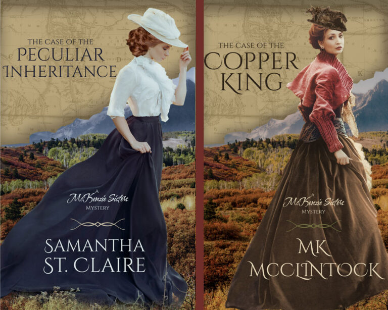 BOOK BLAST: McKenzie Sisters Mystery Series by Samantha St. Claire and MK McClintock Plus Giveaway!