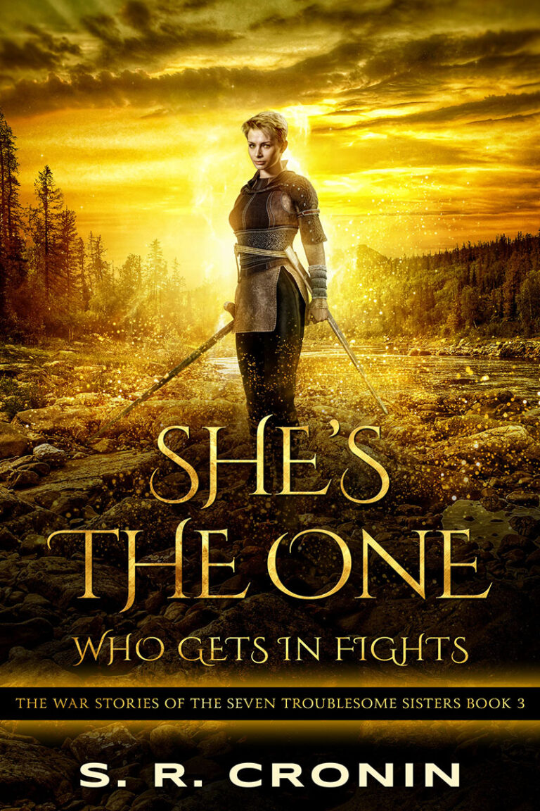 BOOK BLAST: SHE'S THE ONE WHO GETS IN FIGHTS by S.R. Cronin Plus Giveaway!