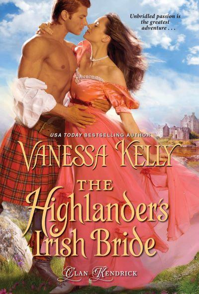 BOOK BLAST: THE HIGHLANDER'S IRISH BRIDE by Vanessa Kelly Plus Giveaway!