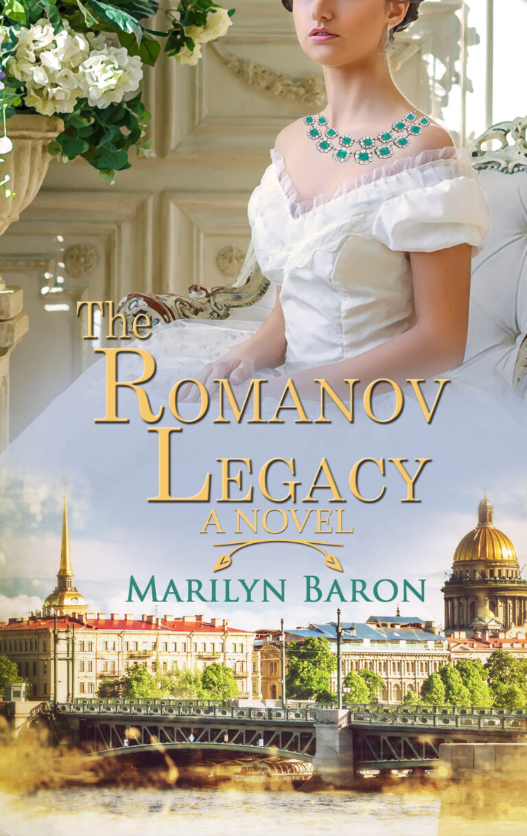 BOOK BLAST: THE ROMANOV LEGACY by Marilyn Baron Plus Giveaway!