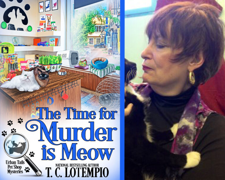 GUEST BLOG: Of Cats and Cozies… by T.C. Lotempio Plus Giveaway!