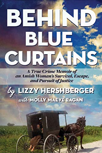 3.5 STAR REVIEW: BEHIND BLUE CURTAINS by Lizzie Hershberger