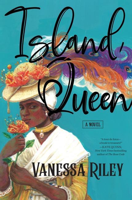 NEW RELEASE: ISLAND QUEEN by Vanessa Riley