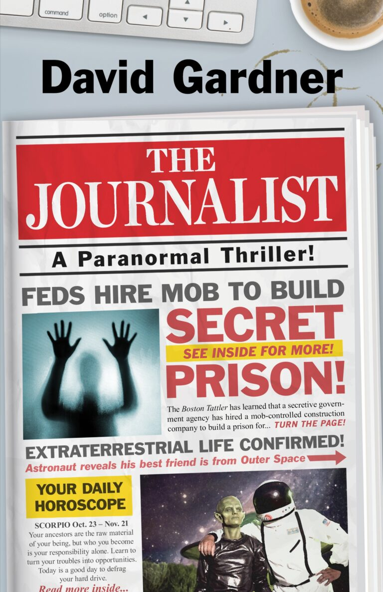 5 STAR REVIEW: The JOURNALIST by David Gardner