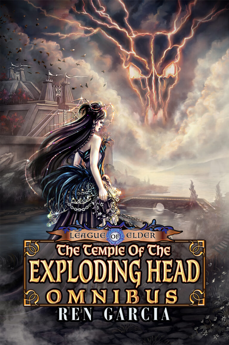 BOOK BLAST: TEMPLE OF THE EXPLODING HEAD OMNIBUS by Ren Garcia Plus Giveaway!