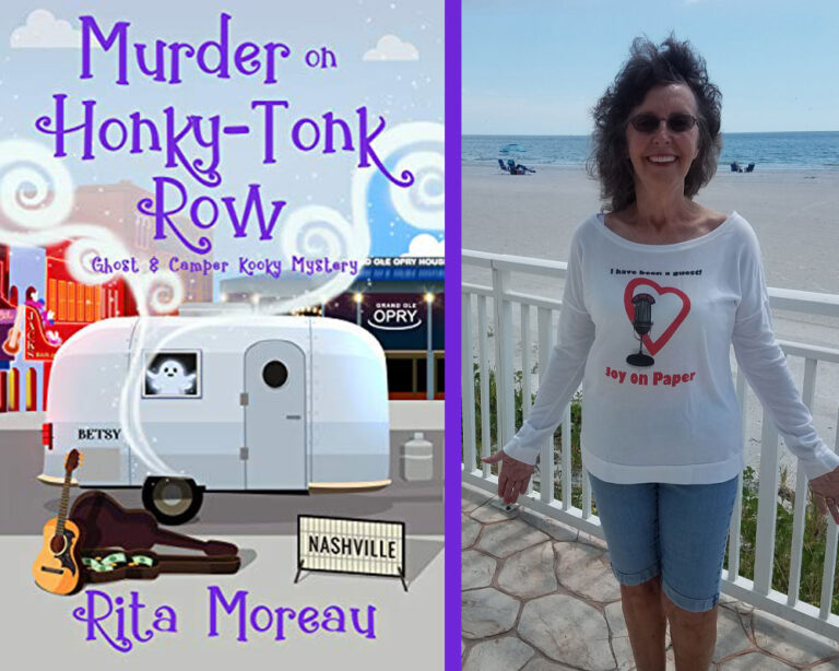 INTERVIEW: With Cozy Mystery Author Rita Moreau Plus Giveaway!