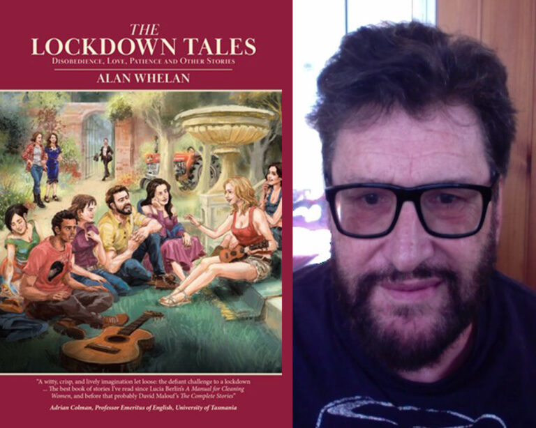 INTERVIEW: Aussie Author Alan Whelan Plus Giveaway!