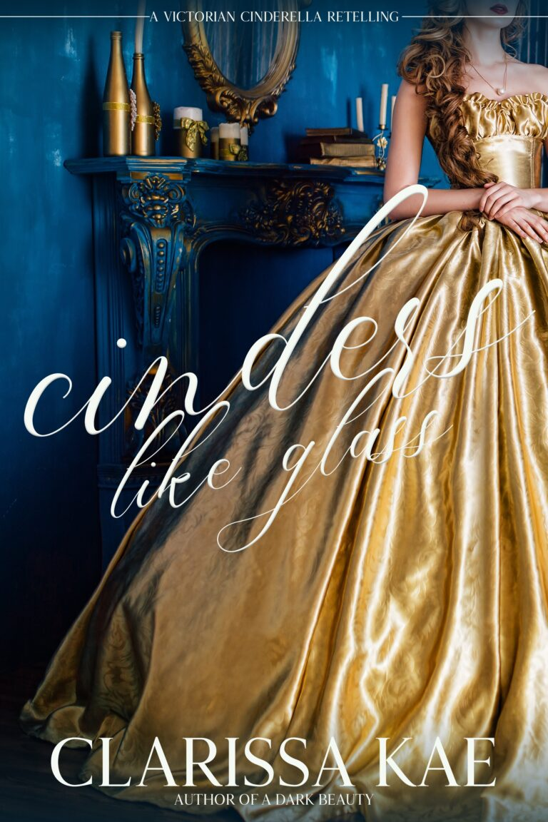 4-STAR REVIEW: CINDERS LIKE GLASS by Clarissa Kae