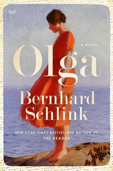NEW RELEASE: OLGA by Bernhard Schlink