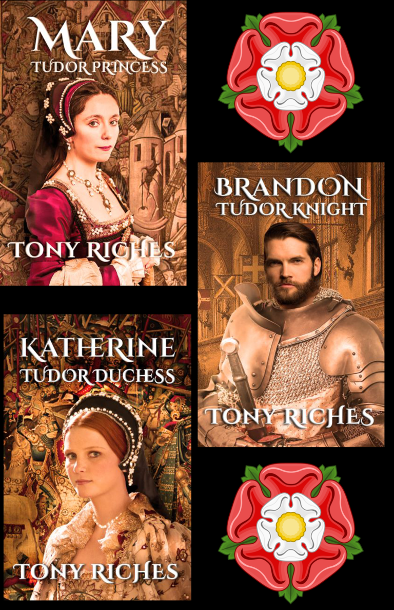 5-STAR REVIEW: THE BRANDON TRILOGY by Tony Riches