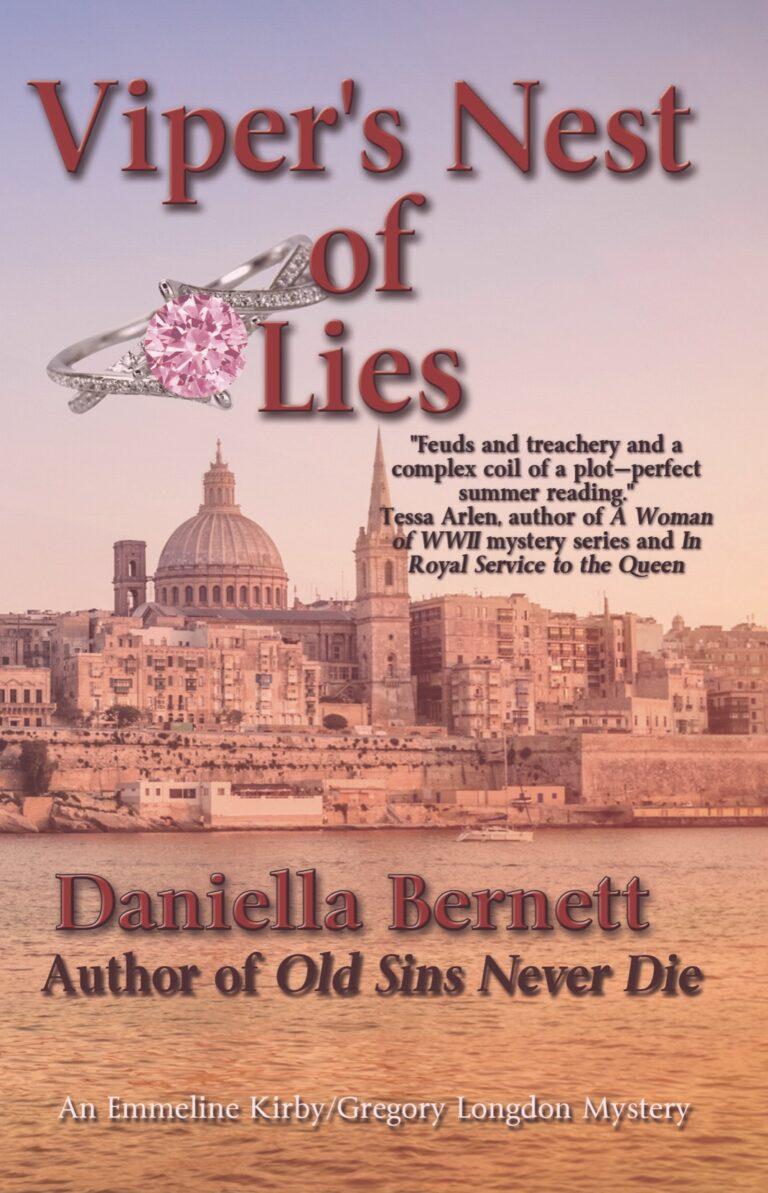 4.5 STAR REVIEW: VIPER'S NEST OF LIES by Daniella Bernett