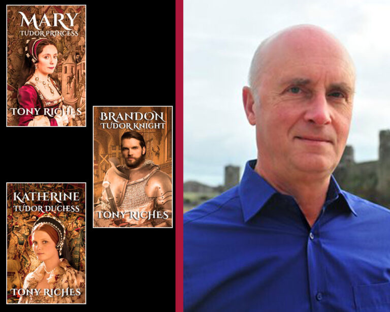 GUEST BLOG: Charles Brandon meets Duchess Margaret of Savoy by Tony Riches Plus Giveaway!