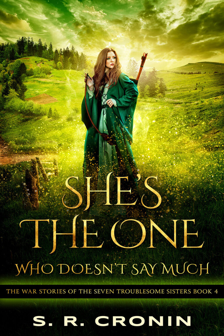 BOOK BLAST: SHE'S THE ONE WHO DOESN'T SAY MUCH by S.R. Cronin Plus Giveaway!