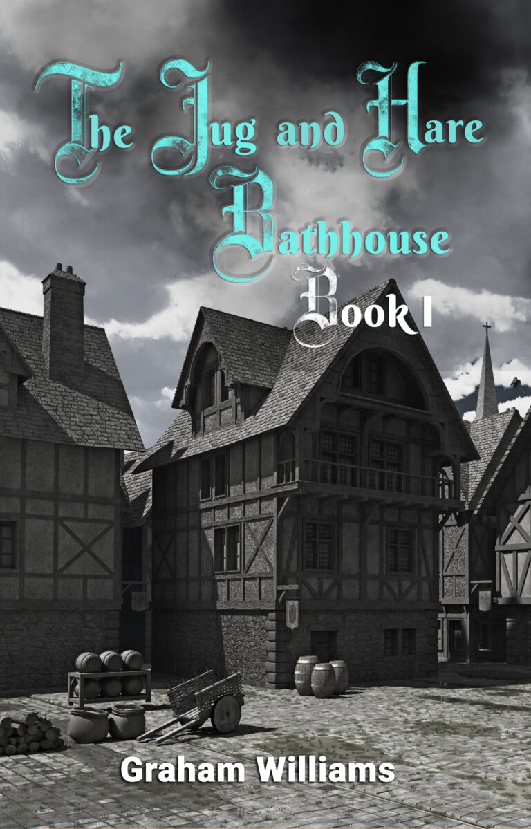 BOOK BLAST:  The Jug and Hare Bathhouse by  Graham Williams Plus Giveaway!