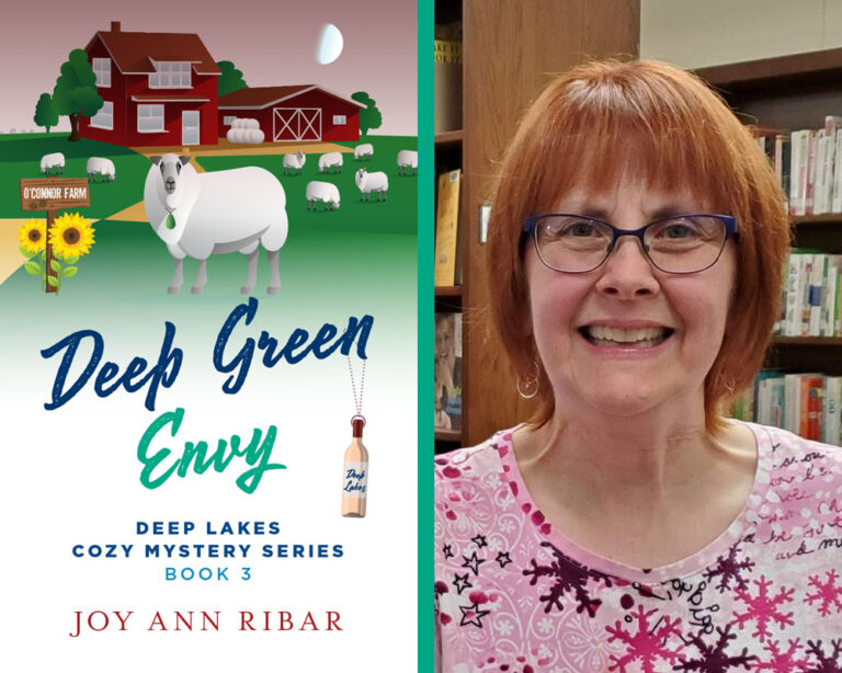 GUEST BLOG: by A Sheepish Investigation by Joy Ann Ribar Plus Giveaway!