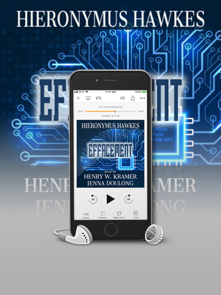 4.5-STAR AUDIO REVIEW: EFFACEMENT by Hieronymus Hawkes