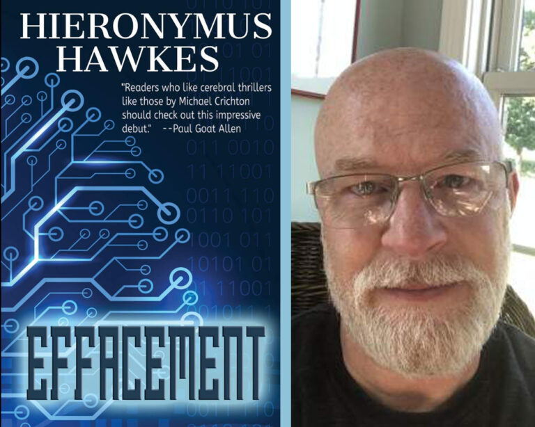 INTERVIEW: With Sci-Fi Author Hieronymus Hawkes Plus Giveaway!