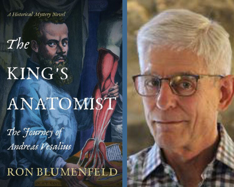GUEST BLOG: The Prodigy from Brussels Who Became the Father of Modern Anatomy by Ron Blumenfeld Plus Giveaway!